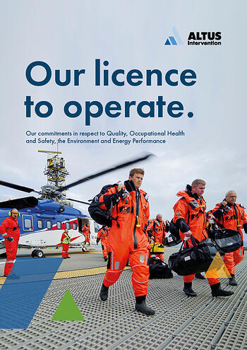 front cover qhse policy